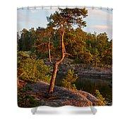 Archipelago Sunset Shower Curtain