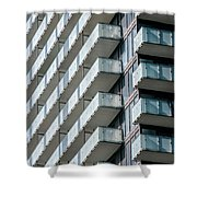 Architectural Abstract - 231 Shower Curtain