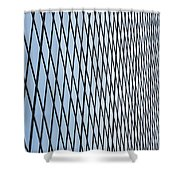 Architectural Abstract - 4 Shower Curtain