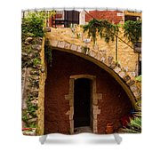 Architectural Details In Chania Shower Curtain