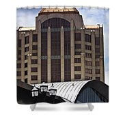 Architectural Differences Roanoke Virginia Shower Curtain