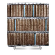 Architectural Dna Shower Curtain