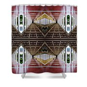Architectural Nightmare II Shower Curtain