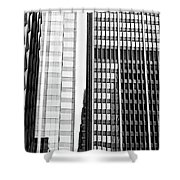 Architectural Pattern Study 1.0 Shower Curtain