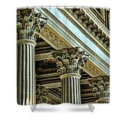 Architecture Columns Palace King Louis Xiv Versailles  Shower Curtain