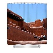 Architecture In Santa Fe Shower Curtain