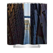Architecture New York City The Crossing  Shower Curtain