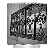 Architecture Of Vernon Place Shower Curtain
