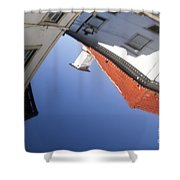 Architecture Reflection Shower Curtain