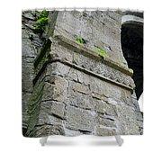 Architecural Detail At Irish Jerpoint Abbey County Kilkenny Ireland Shower Curtain