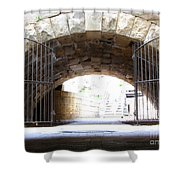 Archway And Gate Shower Curtain