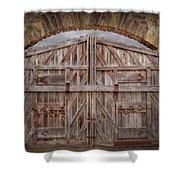 Archway Gate Shower Curtain