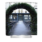 Archway On Factors Walk Shower Curtain