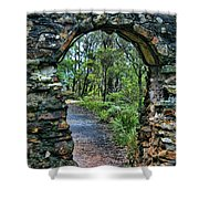 Archway To The Forest Shower Curtain