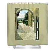 Archway Villa Mandri Shower Curtain