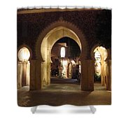 Archways At Night Shower Curtain