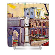 Arco Di Romano Shower Curtain