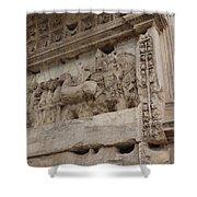 Arco Di Tito Relief Shower Curtain