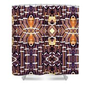 Arctic Pipe Shower Curtain