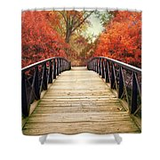 Ardent Autumn Shower Curtain