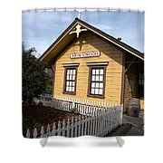 Ardenwood Historic Farm Railroad Station Shower Curtain
