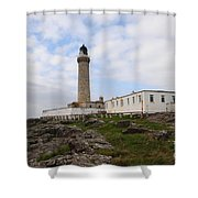 Ardnamurchan Point Shower Curtain