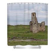 Ardvrek Castle 0947 Shower Curtain