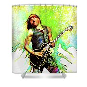 Are You Gonna Go My Way Shower Curtain