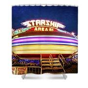 Area 51 Gravitron Shower Curtain