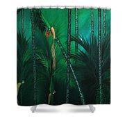 Areca Plam Shower Curtain