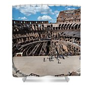 Arena Of Death And Glory Shower Curtain