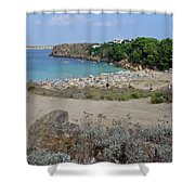 Arenal D'en Castell Shower Curtain