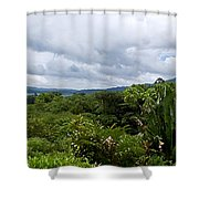 Arenal Lake And Volcano Shower Curtain
