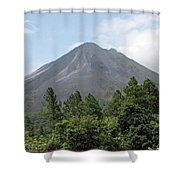 Arenal Shower Curtain