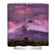 Arenal Volcano Shower Curtain
