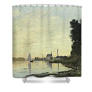 Argenteuil In Late Afternoon Shower Curtain