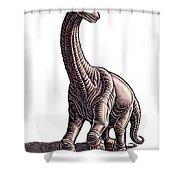 Argentosaurus Shower Curtain