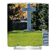 Argonne Cross Memorial Shower Curtain