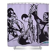 Argungun Fish Festival Shower Curtain