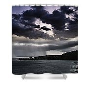 Arianrhods Touch Shower Curtain