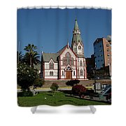 Arica Chile Church Shower Curtain