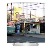 Arica Chile Street Corner Shower Curtain