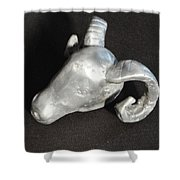 Aries- The Ram 2 Shower Curtain