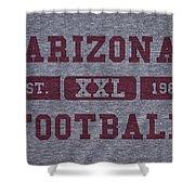 Arizona Cardinals Retro Shirt Shower Curtain