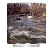 Arizona Creek Shower Curtain