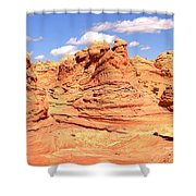 Arizona Desert Dreamscape Shower Curtain