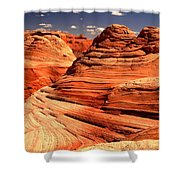 Arizona Desert Landscape Shower Curtain