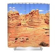Arizona Desert Pastels Shower Curtain