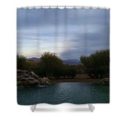Arizona Evening Shower Curtain