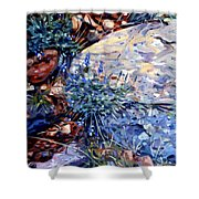 Arizona Flora Study Shower Curtain